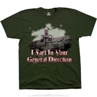 Liquid Blue Monty Python ifart Green T-Shirt