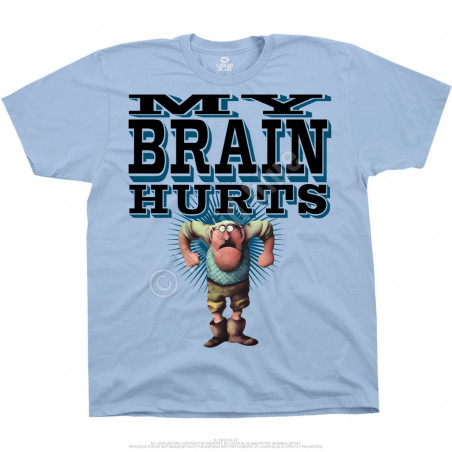 Liquid Blue Monty Python Gumbys Light Blue T-Shirt