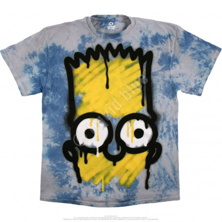 Liquid Blue The Simpsons El Barto Tie-Dye T-Shirt
