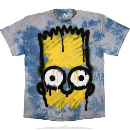 Liquid Blue The Simpsons El Barto Tie-Dye T-Shirt