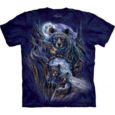 Bears Journey to the Dreamtime T-Shirt The Mountain
