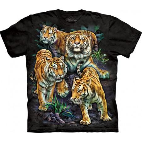Bengal Tiger Collage T-Shirt