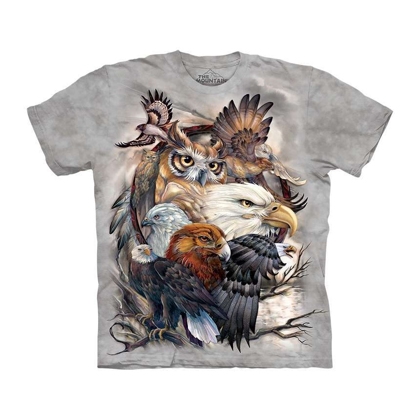 adaa53e9e77 Cool 3D Owl T-Shirts   Apparel by The Mountain - clothingmonster.com