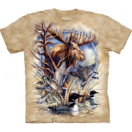 Never a Loon T-Shirt The Mountain