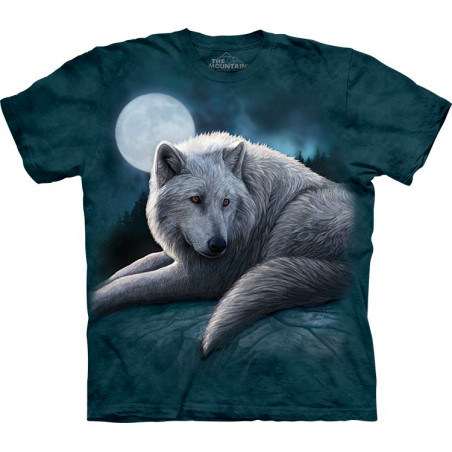 Wolf Guardian of the North T-Shirt The Mountain
