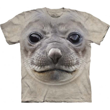 Big Face Seal T-Shirt The Mountain