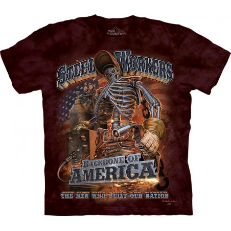 Steel Workers T-Shirt The Mountain