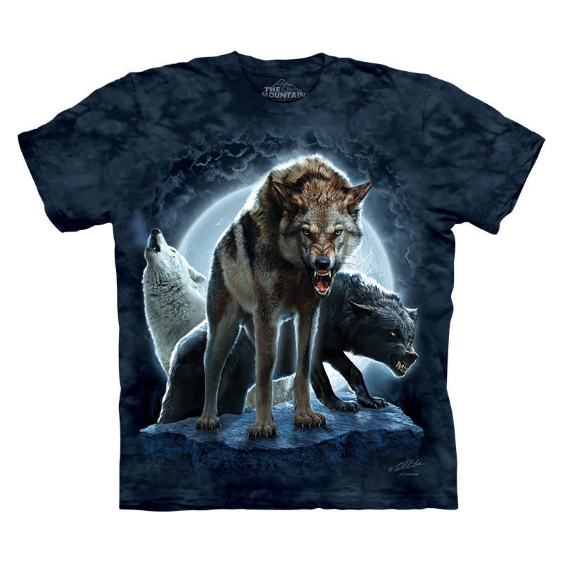 Bad Moon Wolves T-Shirt The Mountain