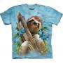 Sloth & Butterflies T-Shirt The Mountain