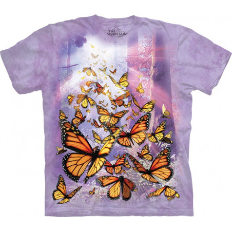 Monarch Butterflies T-Shirt The Mountain