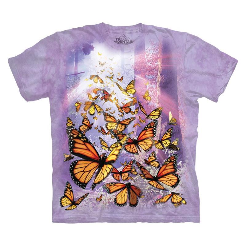 Monarch Butterflies T-Shirt The Mountain