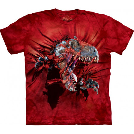 Red Ripper Rex T-Shirt The Mountain