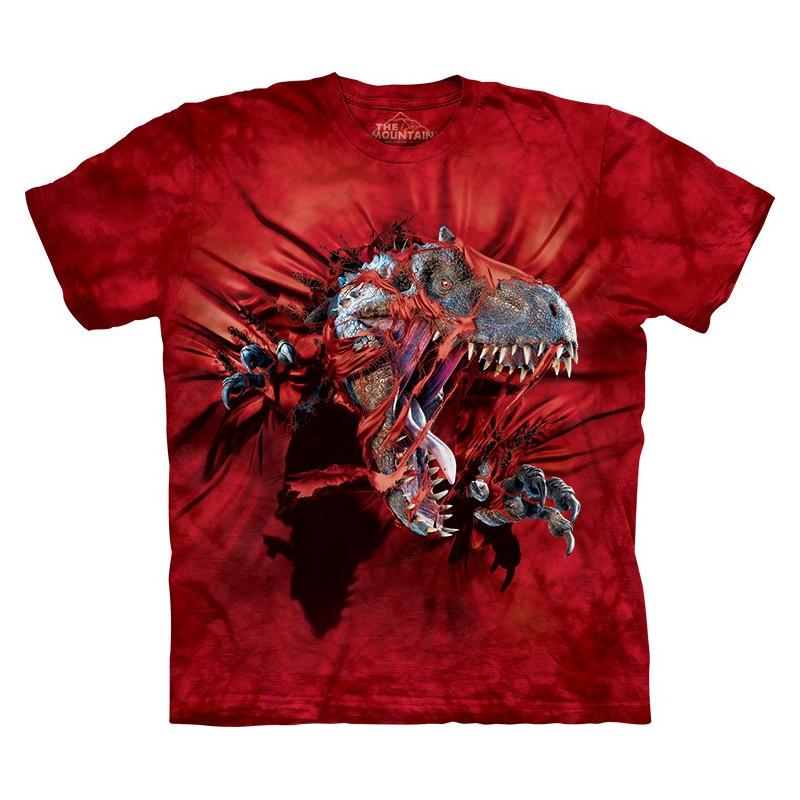 Red Ripper Rex T-Shirt The Mountain