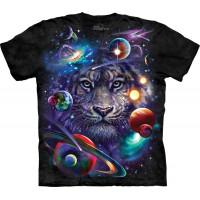 White Tiger Cosmos T-Shirt The Mountain