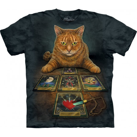 Cat The Reader T-Shirt The Mountain