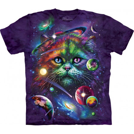 Cosmic Cat T-Shirt The Mountain