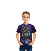 Cosmic Cat T-Shirt The Mountain