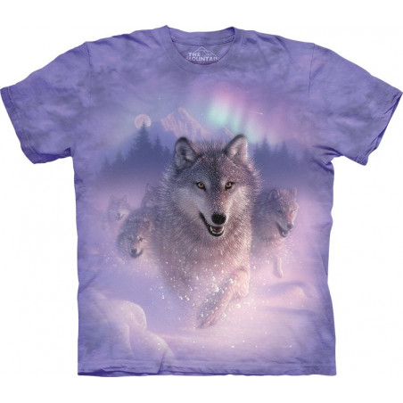 Wolf Northern Lights T-Shirt