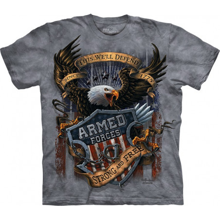 Eagle Armed Forces T-Shirt The Mountain