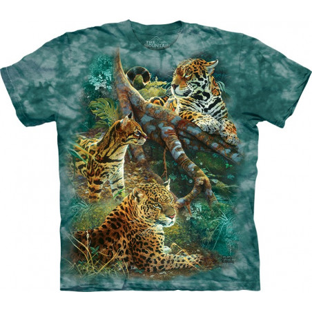 Three Jungle Cats T-Shirt The Mountain